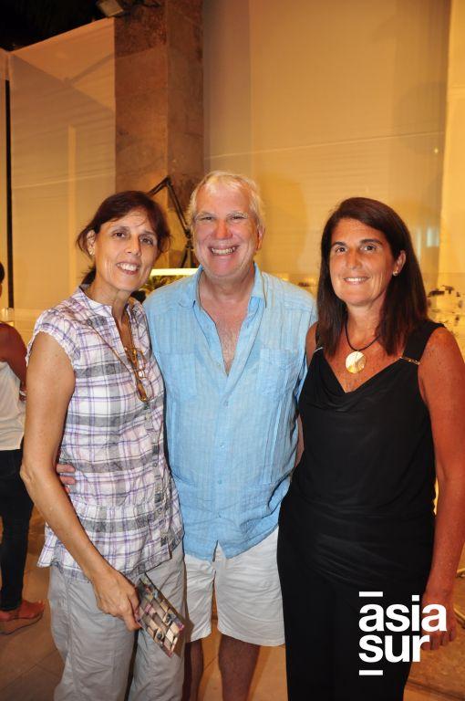 Diana de Garrido, Lufi Garrido y Malu de Lost Aunau.
