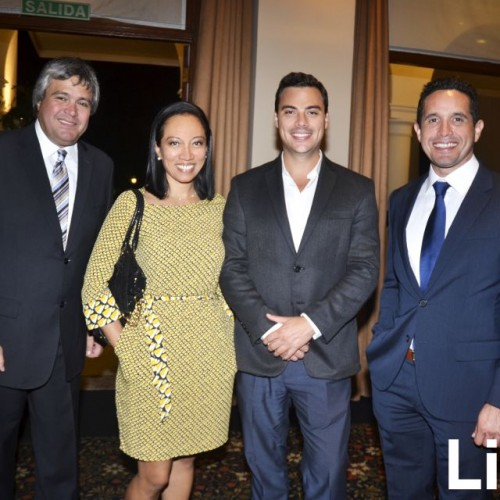Francisco Zurek, Nancy Tueros, Diego de Madalengoitia y Jorge Mendoza.