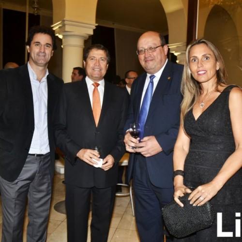 Gustavo Ehni, Rodolfo Bragagnini, Ricardo Vidal y Patricia Jiménez.
