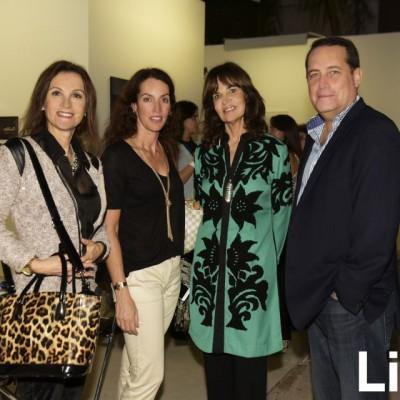 Mariví Arregui, Jackie Biber,   Isabel Anninat y Carlos Rengifo.