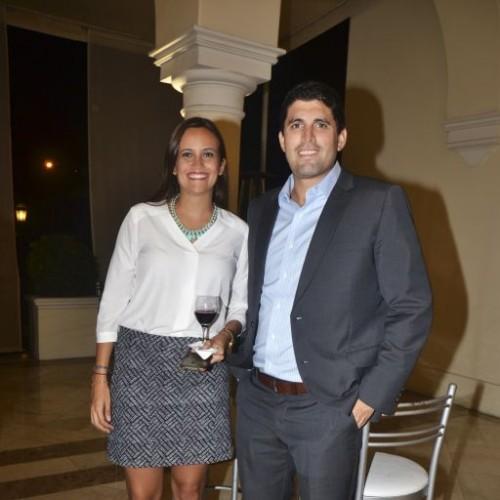 Milka Aguinaga y Rodolfo Bragagnini