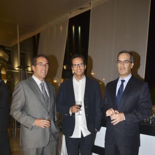 Oscar Ortigosa, Roberto Rothschild y Enrique Angulo.