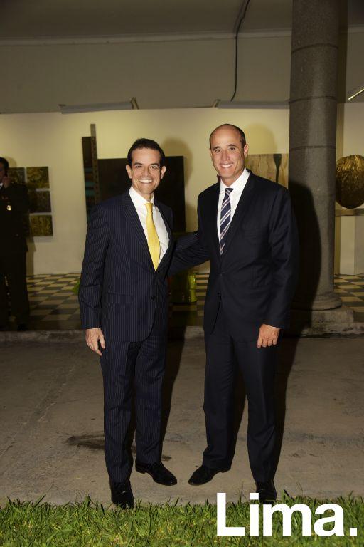 Rafael Alcazar y   Jorge velaochaga.