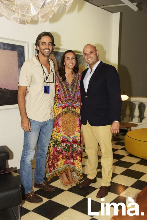 Sergio Fernández, Luciana   Fernández y Armando Salem.