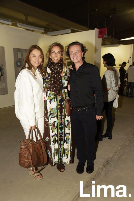 Vanesa Bambaren, Marilú Vignati y Fenando Taboada.