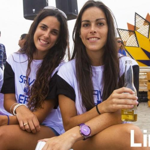 Inés Pendavis y Romina Montes.