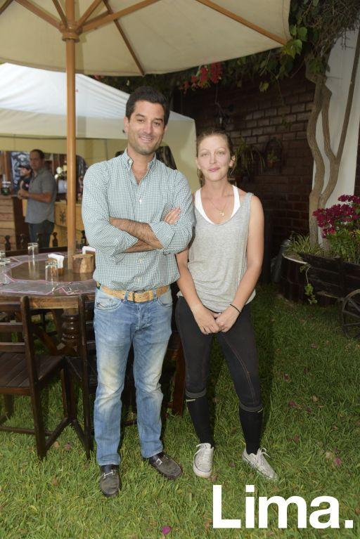 Álvaro Chirinos y Svenja Eichelet