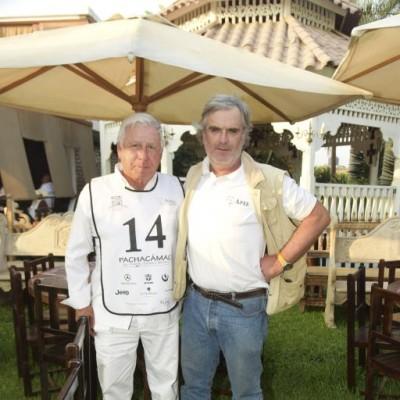 Alberto Massaro y Luis Opazo