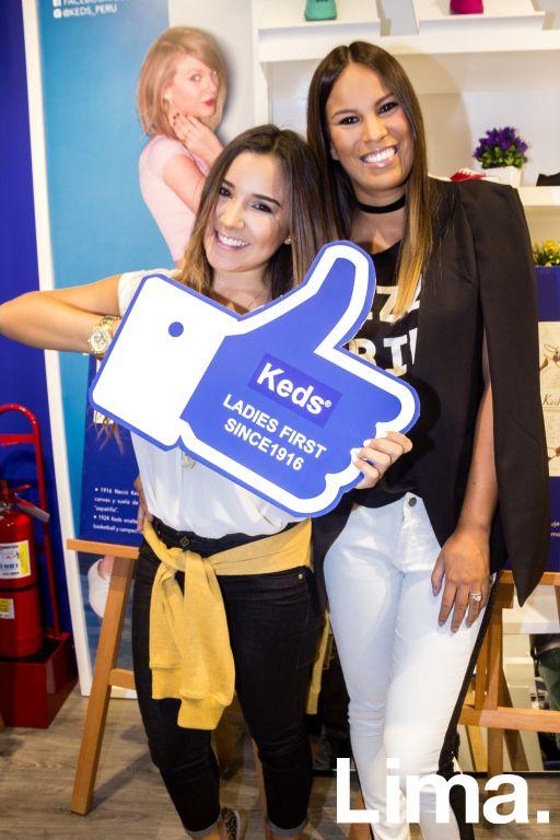 Alessandra Fuller y Antonella Legua