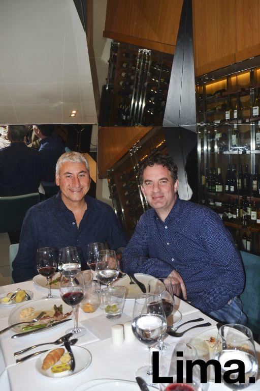 Augusto Fernandini y Walter Wettershipt