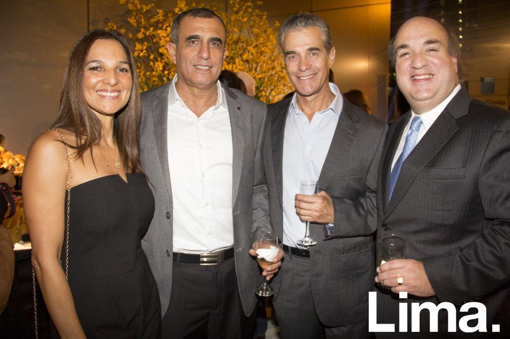 Corina De Quiroz, Daniel Quiroz, Jhonny Harth y Javier Laos