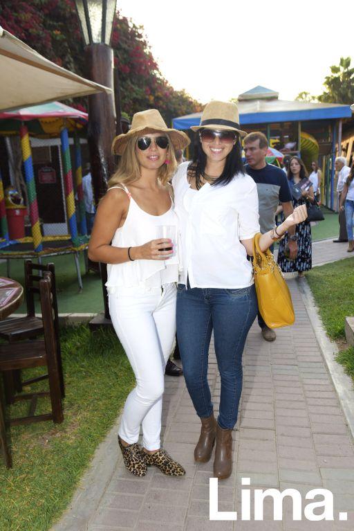 Cristina Tamayo y Vanessa Trigoso