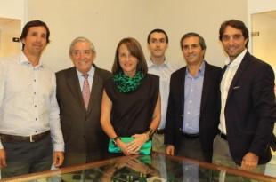 Daniel Jimenez, Raul Jimenez, Ana Maria Guiulfo, Rafael Jimenez Jr, Rafael Jimenez y Raul Jimenez Jr