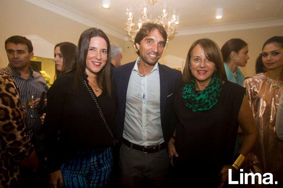 Daniela Basombrío, Raúl Jiménez y Ana María Guiulfo