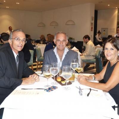 Felipe del Campo, Mario Mustafá y Mayssa del Campo