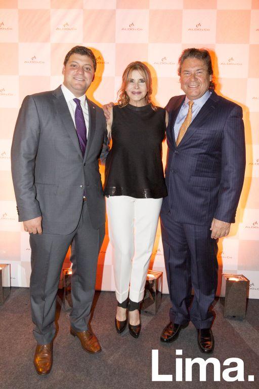 Franco Noriega, Carolina Tola y Ricardo Martín De Rossi