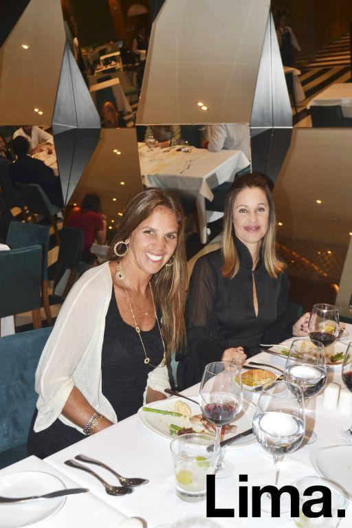 Giselle González y Rosario de Armenteras