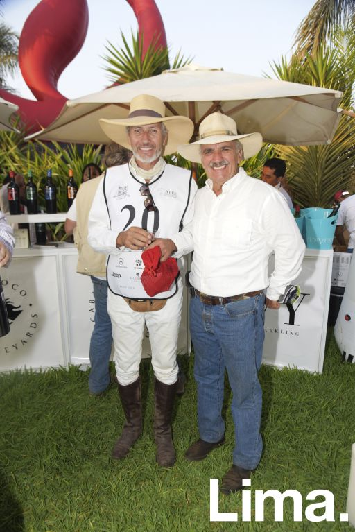 Ismael Noya y Goyo Moore