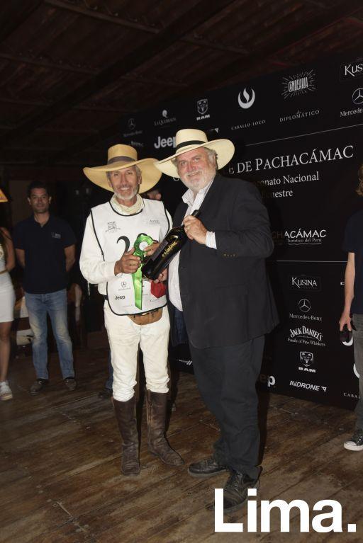 Ismael Noya y Jorge Coderch.