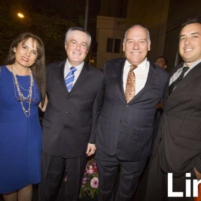 Izabella De Coz, Miguel Angel Coz, Aldo Noriega y Timothy Crosby