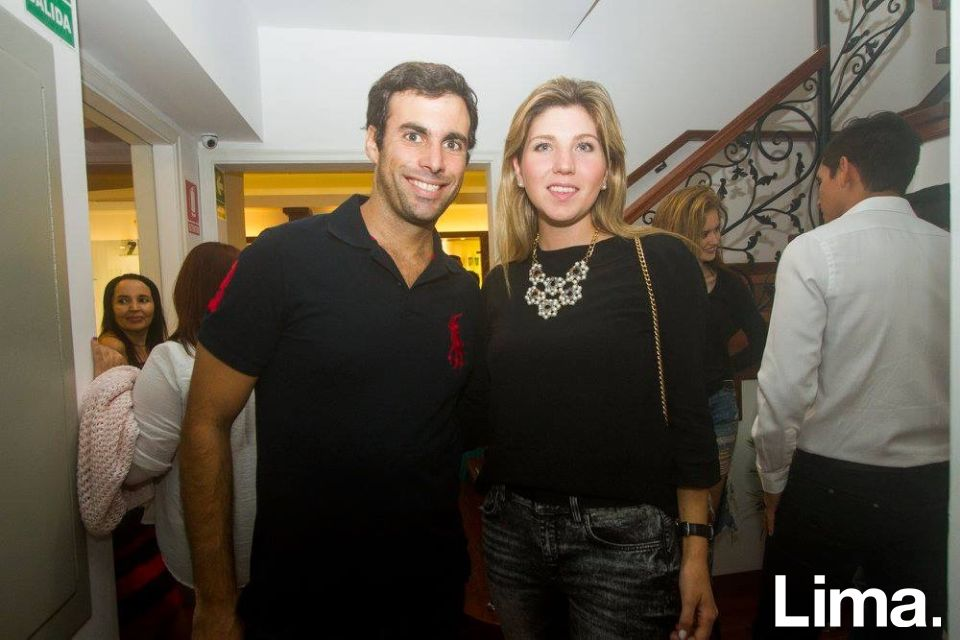Javier Gonzales Olaechea y Sofia Balbi