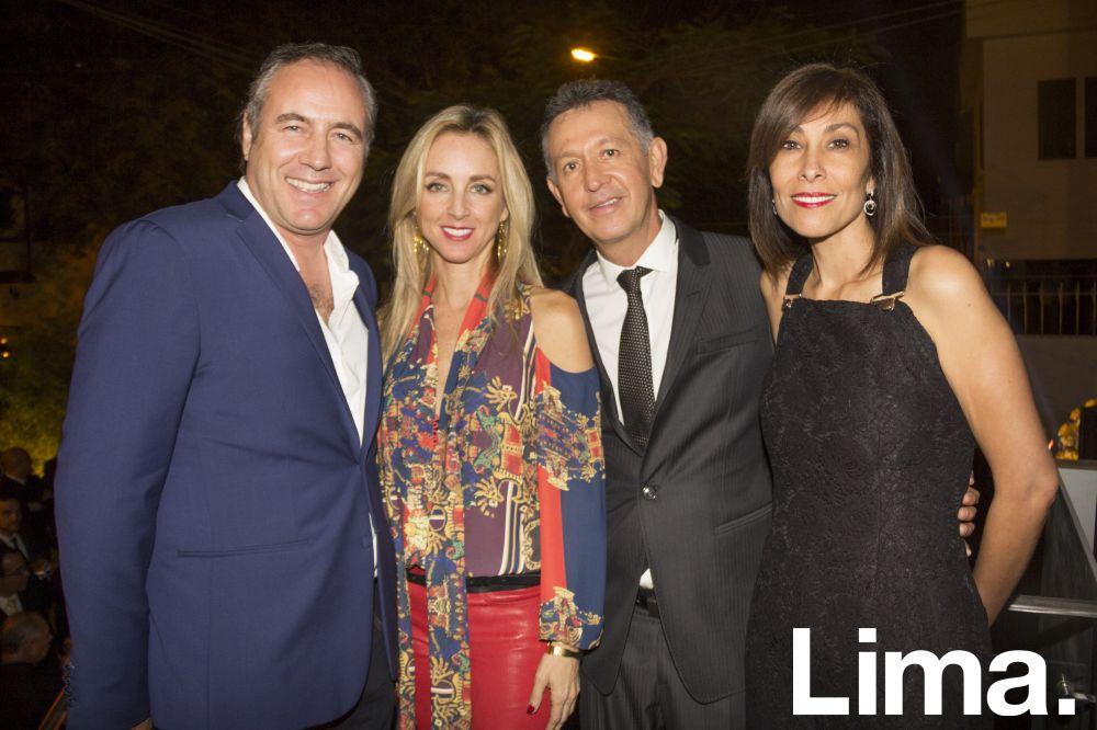 Javier Paino, Ani Alvarez Calderón, Tomás Vega y Susana Galvez