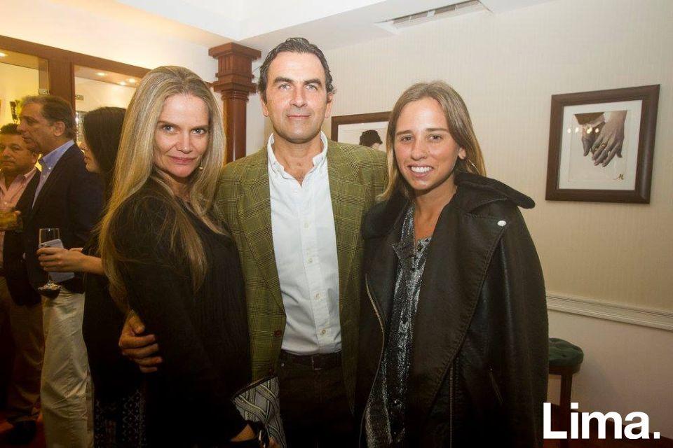 Jennifer Houghton, Carlos Cabieses y Mariella Ruiz de Somocurcio