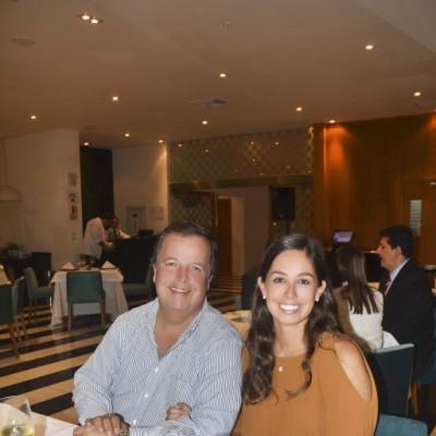 Jose Martín Pflucker y Natalia Pflucker