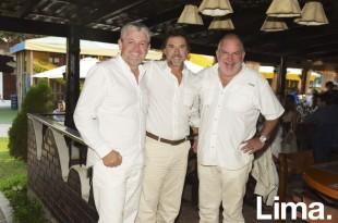 Jose de la Puente, Jorge Stoll y Manuel Valencia.