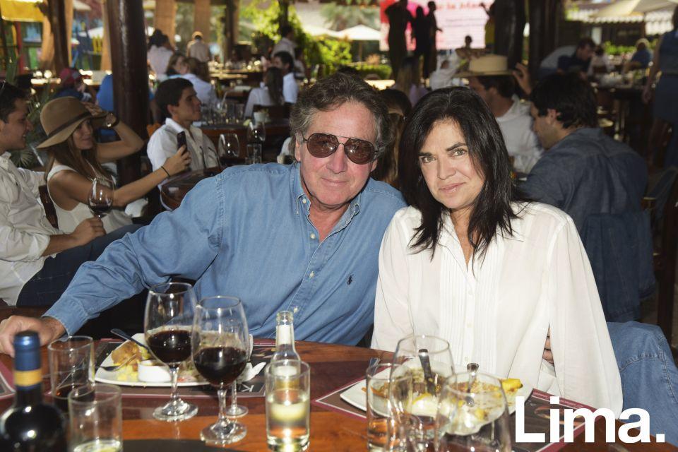 Leopoldo Scheelje y Monica Carrión