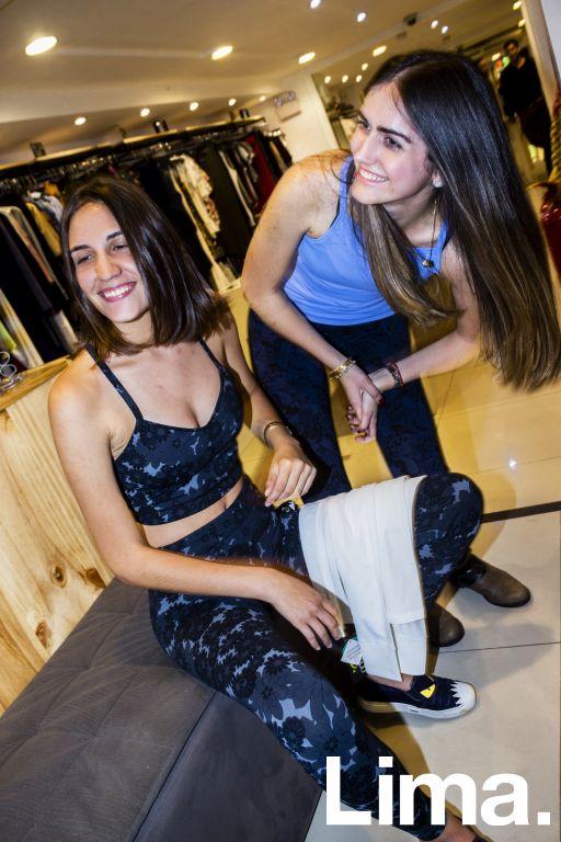 Camila Villasana y  Nicolle Pegot en evento Mommy & Me, The Hanger.