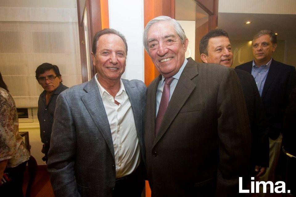 Manolo Vega y Raul Jiménez