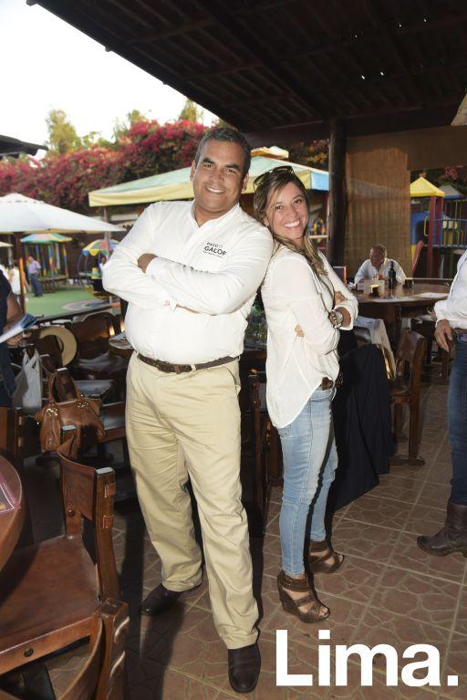Paolo Doria y Pily Guitiérrez