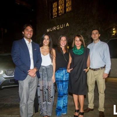 Raúl Jiménez, Adriana Araujo Alvarez, Daniela Basombrío, Ana Maria Guiulfo y Rafael Jiménez