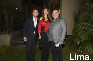 Alberto Cosignani, Soledad Lema, y Juan Carlos Valdivia.