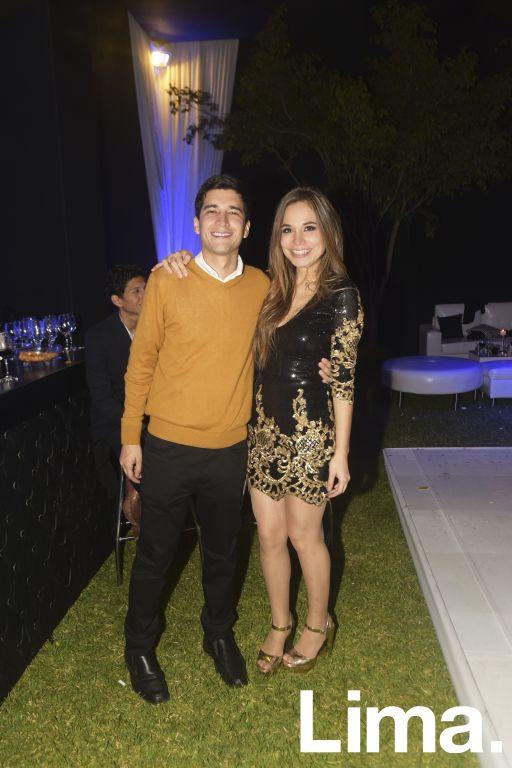 Alejandro Cornejo y Alejandra Valdivia.