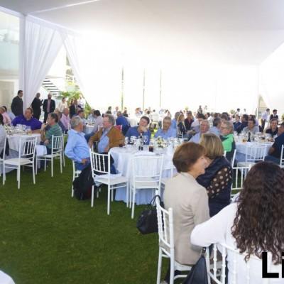 Almuerzo Audi Quattro Cup en el Club Golf los Inkas.