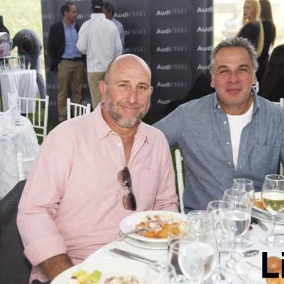 Antonio Castro y Carlos Saniltz.