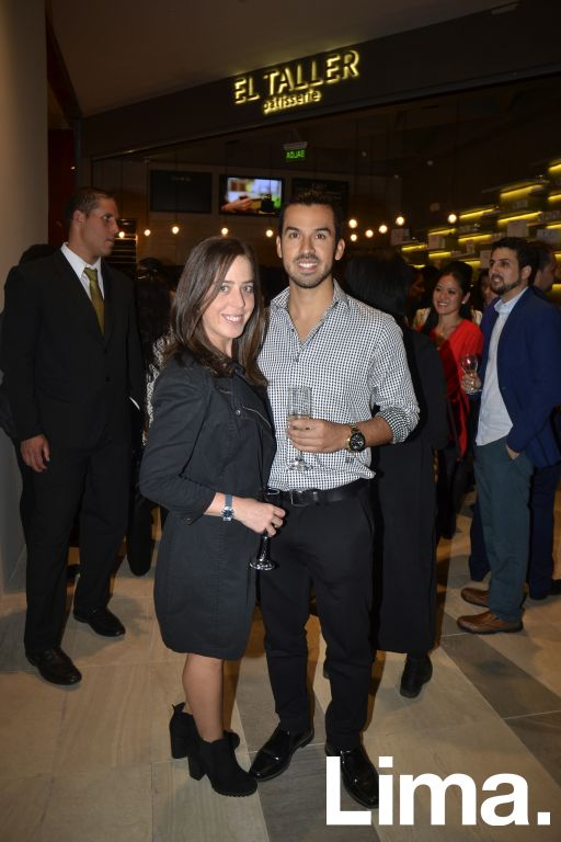 Daniela Viale y Hernando Zurita