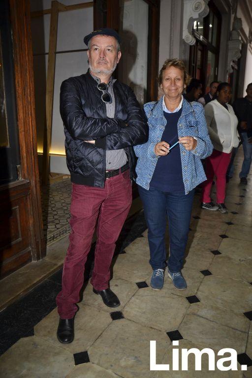 Francisco Leo y Rosario Ferreccio
