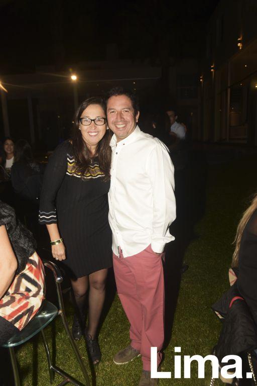 Giovanna y Guillermo Quedas.
