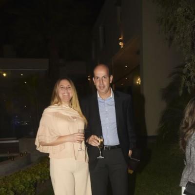Giselle y Roberto Gonzales.