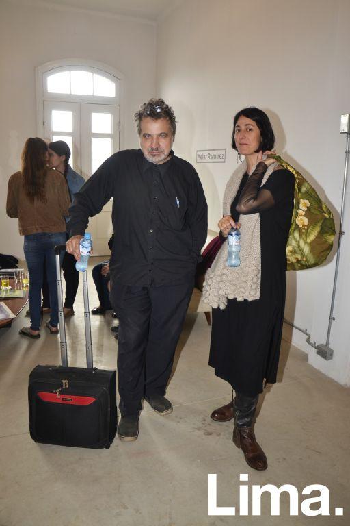 Gustavo Buntinx y Alice Wagner