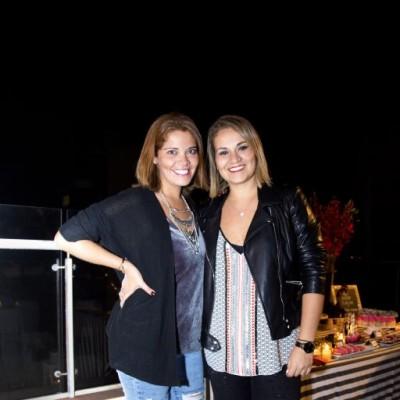 Pamela y Fiorella Risco