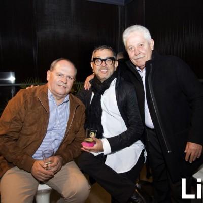 Gino Poggi, Juan Poggi y José Poggi