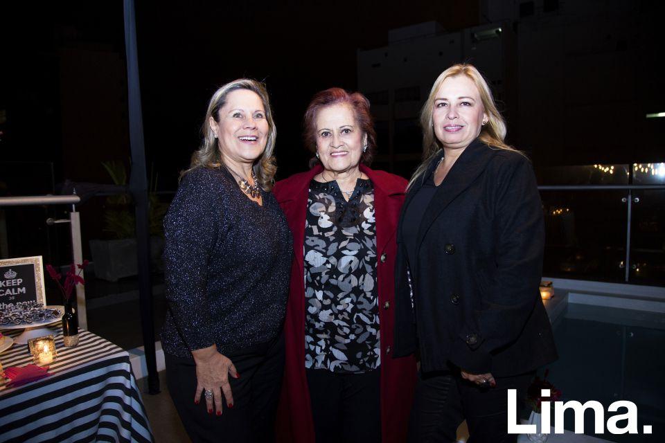 Carolina Poggi, Carola Deza y Pilar Rabines