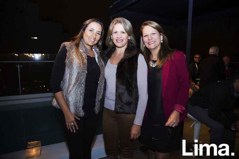 Sheyla Ayllón, Itala Poggi y Lourdes Makthon