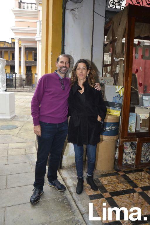Jack Cohen y Kylla Piqueras