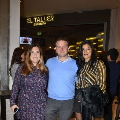 Janice Rooth, Diego Roselló y Laura Cuadros
