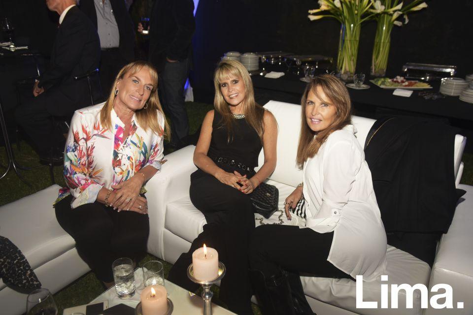 Jessica Zurek, Sandra Perales y Susy Saravia.